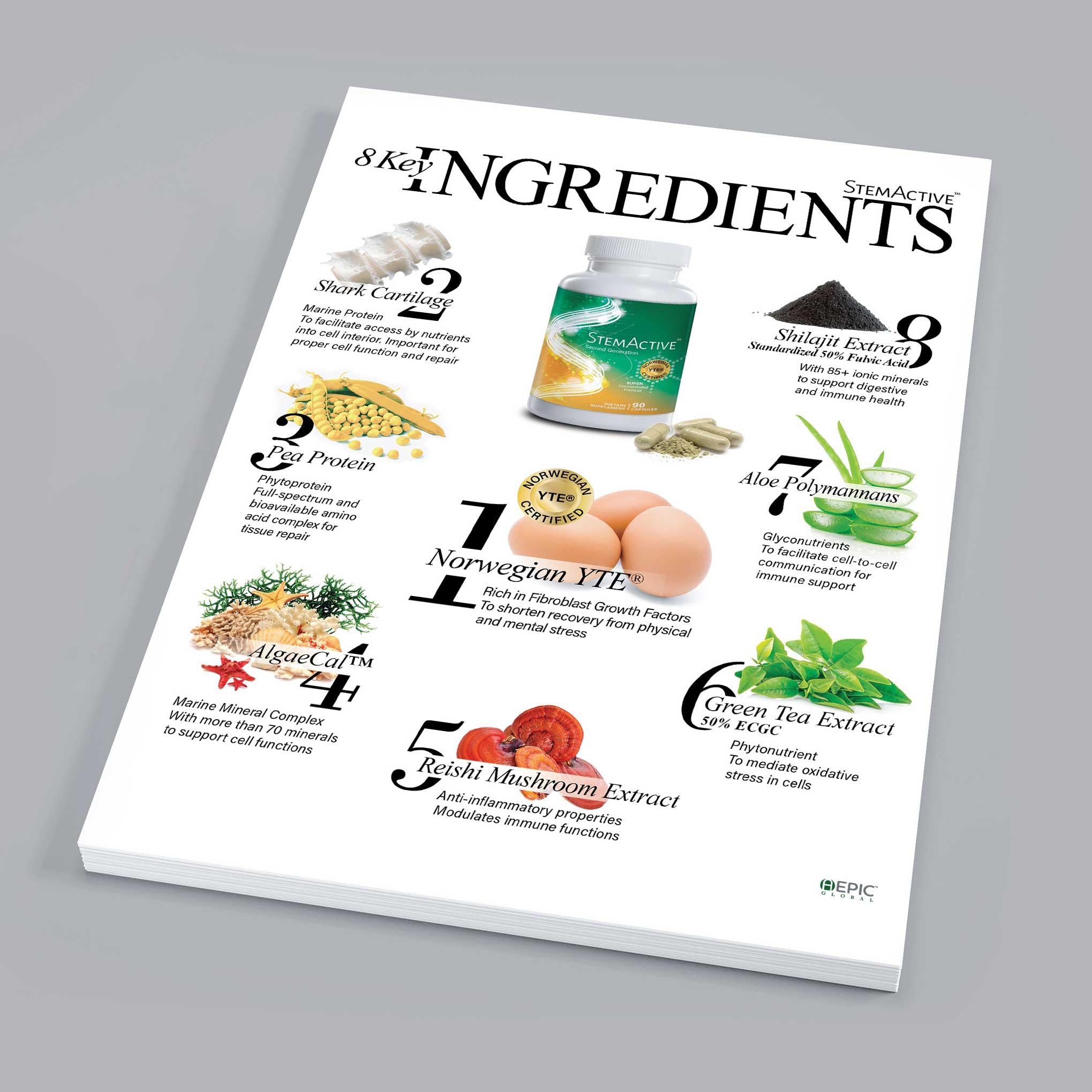 8 key Ingredients brochure