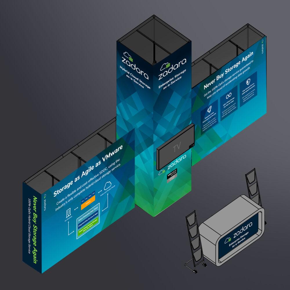 VMware Zadara Booth Design