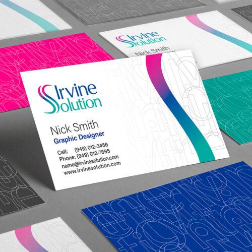 irvine solution branding